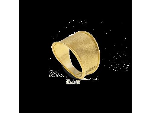 Anello a Fascia Marco Bicego Lunaria in Oro Giallo