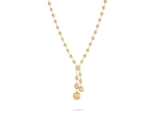 Collana Marco Bicego Africa in Oro Giallo con Diamanti