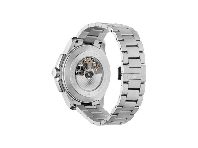 Gucci G-Timeless Chrono XL Automatico in acciaio