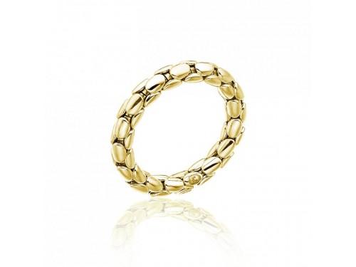 Anello Flessibile Chimento Stretch Spring in Oro Giallo