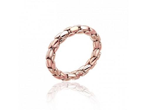 Anello Flessibile Chimento Stretch Spring in Oro Rosa