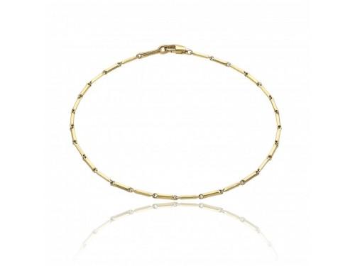 Bracciale Chimento Tradition Gold Bamboo Classic in Oro Giallo 19,5 cm