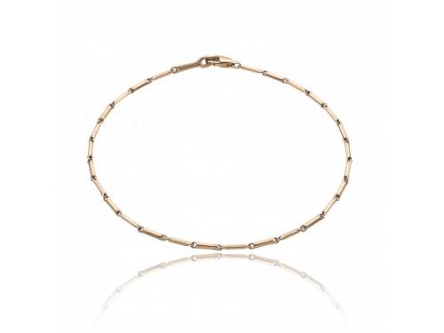 Bracciale Chimento Tradition Gold Bamboo Classic in Oro Rosa 18,5 cm