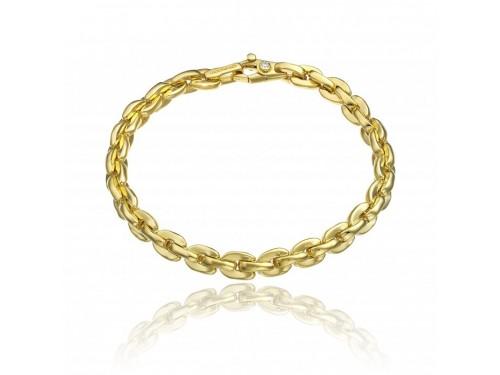 Bracciale Chimento Tradition Gold Accenti in Oro Giallo con Diamante Bianco