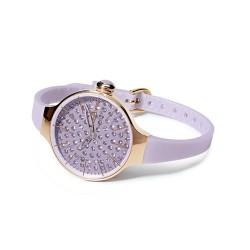 Le Lune Bracciale di perle con pendente Fiore in madreperla e perla a goccia Coscia Gioielli