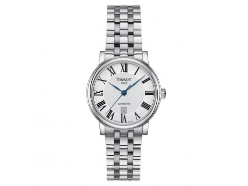 Orologio Tissot Carson Premium Lady con Quadrante Argento e Bracciale in Acciaio