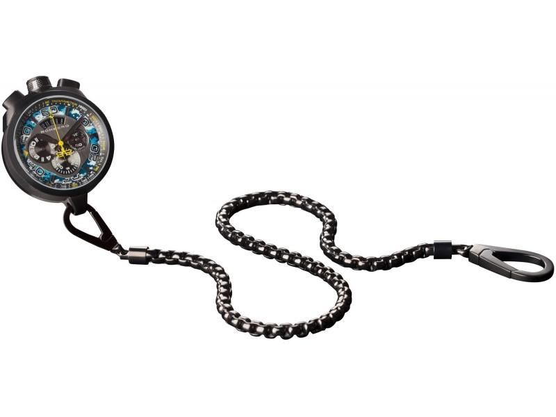 Bomberg Bolt 68 Cronografo Camo Pacific Blue orologio da polso uomo